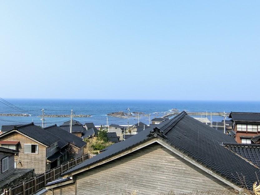 黒島の町並み俯瞰
