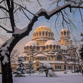 Alexander Nevsky Cathedral, Sofia by Estislav Ploshtakov - Buildings & Architecture Public & Historical (  )