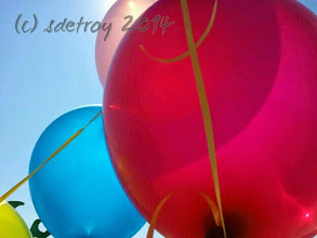 Photo: Grateful for balloons