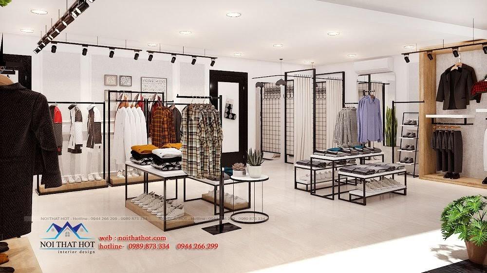 thiết kế shop thời trang đẹp nhất