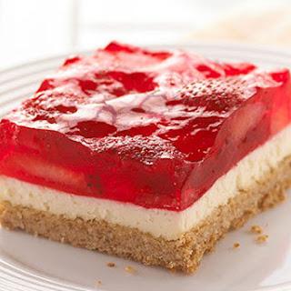 Strawberry-Pretzel Squares Made Over