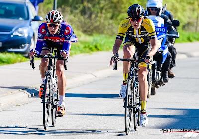 Belgian Cycling voert wijziging door voor wegrit bij beloften: Louis Blouwe kan niet starten door knieblessure
