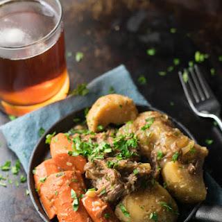 Brown Ale Beer-Braised Pot Roast.
