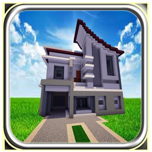 Moderen Minecraft House (app)