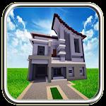 Moderen Minecraft House Icon