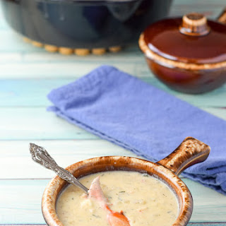 Lainey's Lovely Lobster Bisque.