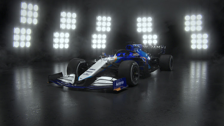 The official, unhacked livery that will be adorning the 2021 Williams Racing FW43B.