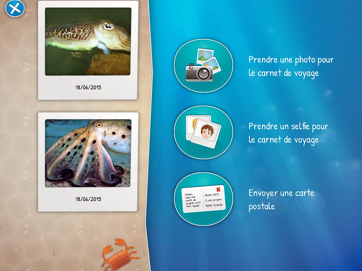 Guideez Aquarium de Vannes FR- screenshot