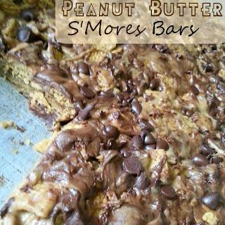 No Bake Peanut Butter S'Mores Bars
