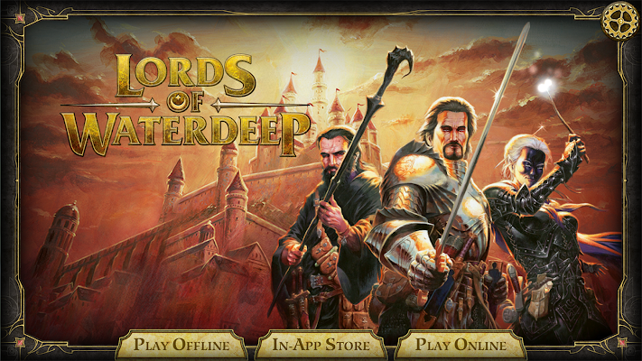 D&D Lords of Waterdeep- screenshot