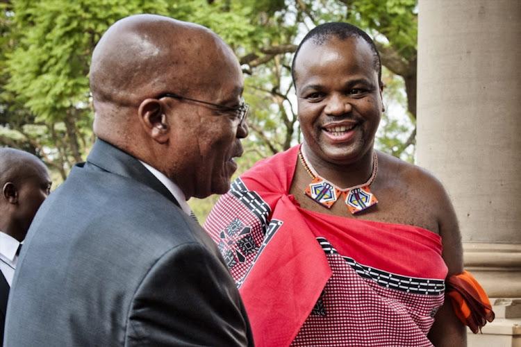presidency denies zuma sneaked into swaziland