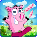 peppo pig jumping icon