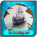 3D Drawing Art Ideas icon