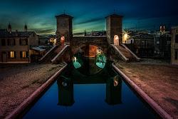i tre ponti di Comacchio