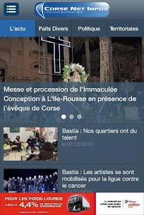 Corse Net Infos- screenshot thumbnail
