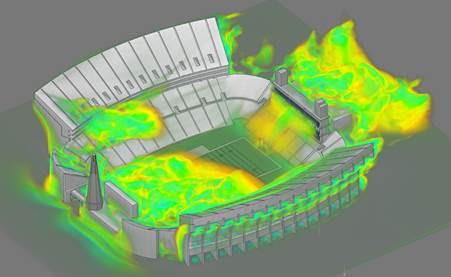 ANSYS | Сможет ли футбольная команда «Патриоты» получить преимущество с использованием CFD-моделирования в режиме реального времени?