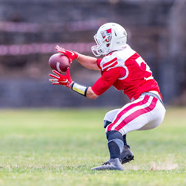 Gridiron Victoria by John Torcasio - Sports & Fitness American and Canadian football ( images, western crusaders, sports, photo, action, gridiron victoria )