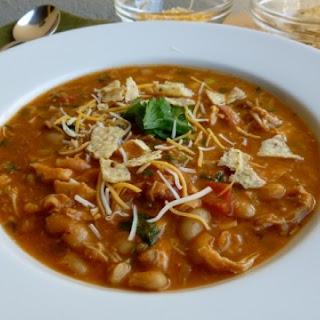 Chicken White Bean Salsa Soup
