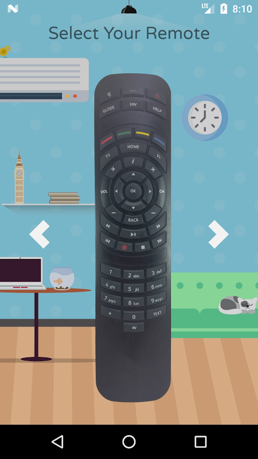 Remote for Virgin - NOW FREE- screenshot