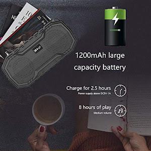 Boxa solara portabila XMU7max, lanterna incorporata