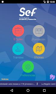 Sef m vil aplicaciones en google play for Oficinas sef murcia