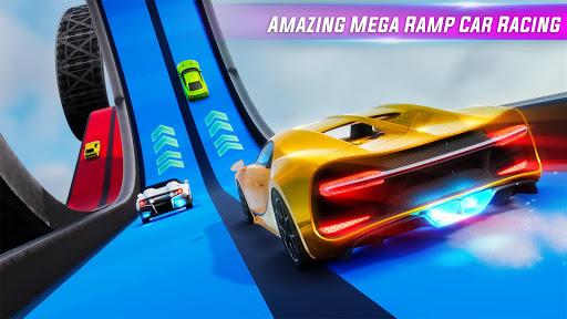 Mega Ramp Car stunts Impossible Tracks: GT Racing screenshots 1
