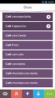 Screenshot of Receitas de Café do Pina