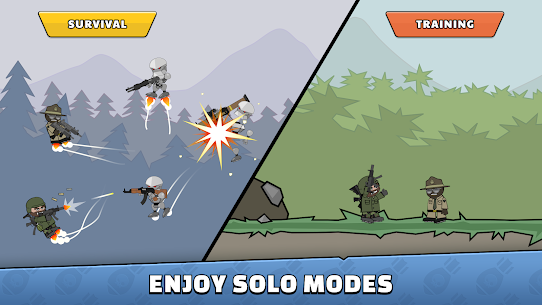 [Unlimited All] Download Mini Militia MOD Apk v5.0.6 [2020] 6