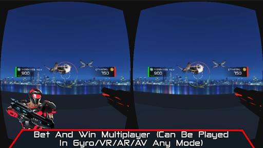 VR AR Dimension - Robot War Galaxy Shooter screenshots 3