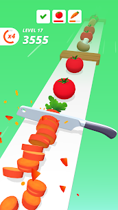 Perfect Slices Mod Apk V1.2.7(Unlimted Money) 5