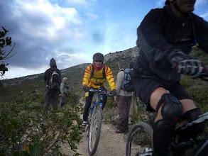 Photo: Dans la descente d'une étape du tour du Gallaban.
