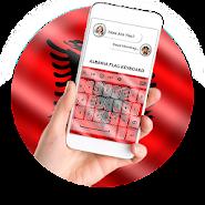 Albania Flag Keyboard - Elegant Themes APK icon