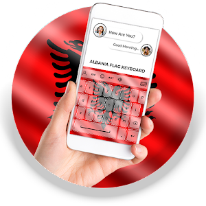 Albania Flag Keyboard - Elegant Themes APK Download for Android