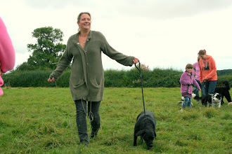 Photo: Lorraine and Maggie-May Lab X