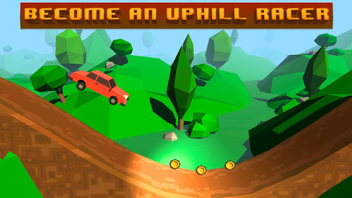 Pixel Car Hill Climb Race 3D