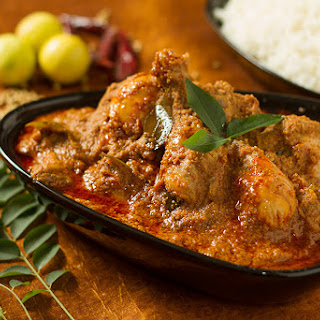 Chicken Chettinad – a chicken dish from Tamil Nadu.