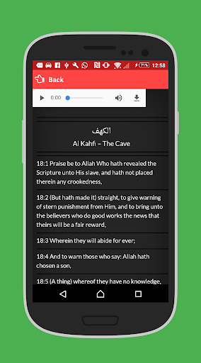 Download Surat Al Kahfi Arab Latin Terjemah Keutamaannya