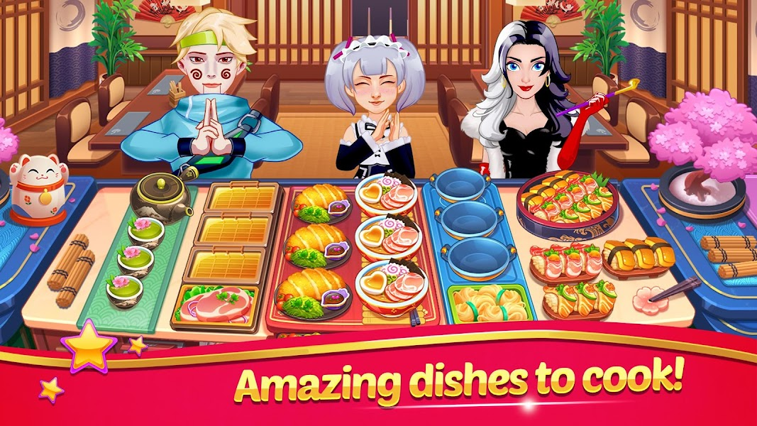 Cooking Tasty Chef : Master Fever Madness Games