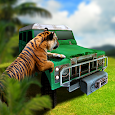 4x4 Tiger Chase Icon