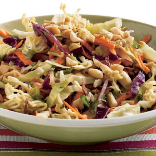 Easy Asian Cabbage Salad.