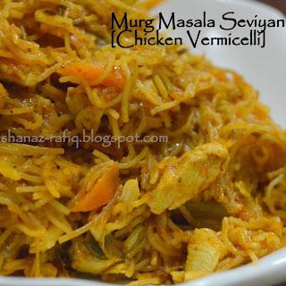 Chicken Vermicelli | Murg Masala Seviyan