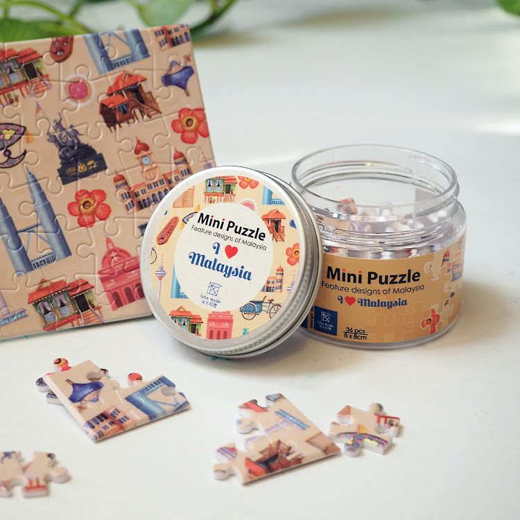 Mini Puzzle: I Love Malaysia by Loka Made