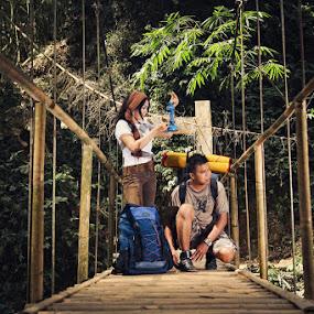 Adventure Romantic by Adrianto Mahendra II - People Couples