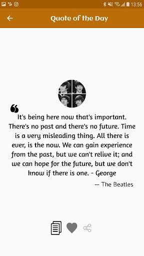 The Beatles Quotes, Facts, Lyrics App Report on Mobile