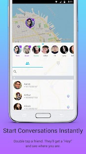 Jink - Message & Meet on a Map - screenshot thumbnail