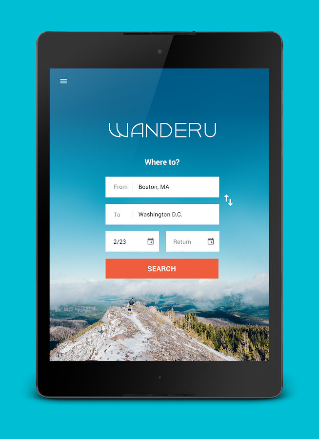 Wanderu Book Bus Train Tickets- screenshot
