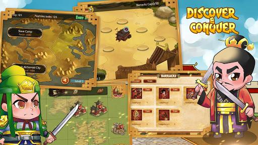Télécharger Thrones of 3 Kingdoms Conquest mod apk screenshots 3