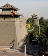 Photo: Day 188 -  This is the Height of the Wall!!!   East Gate on Old City Wall in Xi'an
