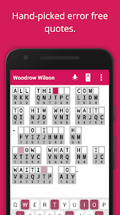 Cryptogram Cryptoquote Puzzle Screenshot