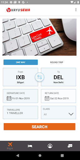 VayuSewa - Cheapest flight tickets. screenshot 3